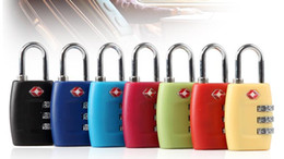 sale hot 150pcs/lot Digit Combination Padlock Suitcase Travel Lock TSA locks Luggage Padlock