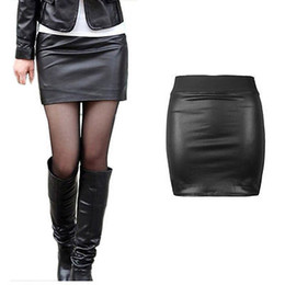 Discount Leather Skirt Looks | 2017 Black Leather Skirt Looks on ...