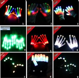 Led Luminous Gloves Cosplay Noctilucent