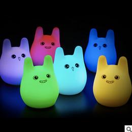 2017 New Design RGB LED Night Light, best gift for festival lovely toys  gift for child
