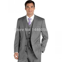 Discount Light Grey Suit Designs For Men | 2017 Light Grey Suit ...