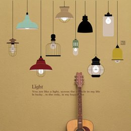 Television Bulbs Online | Projection Tv Bulbs for Sale:Light Bulb Wall Sticker Living Room Bedroom Decor Mural Art Vinyl Wallpaper  Tableware Wall decal Stickers,Lighting