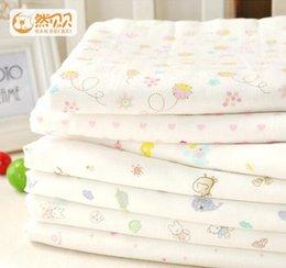 2017 cotton gauze patterns Ranbeibei Four layers of gauze cotton baby towel cotton soft newborn baby bath towel oversized
