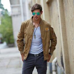 Wholesale Casual Mens militar chaquetas de estilo para hombre ropa de primavera de otoño delgado ajuste moda hombres chaquetas prendas de vestir
