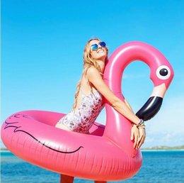 120cm 60 pulgadas inflables gigantes inflables flotador de juguete de la piscina flotante inflable Rosa rosa lindo paseo-en natación nadar anillo de agua fiesta diversión fiesta