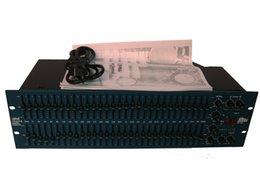 Превосходное качество FCS-966 Опаловый двойной эквалайзер 31 полосный эквалайзер BSS FCS-966 Audio Opal EQ Высокочастотный фильтр BSS FCS966 Двойной 30-битный графический эквалайзер