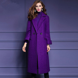 Purple Wool Coats Online | Womens Purple Wool Coats for Sale