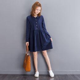 Navy Blue Tunic Dress Online | Navy Blue Tunic Dress for Sale