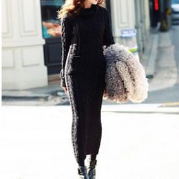 Discount Winter Maxi Dress Wool  2017 Winter Maxi Dress Wool on ...
