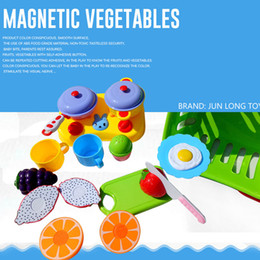 online shopping Children have a family toy kitchen simulation fruit and vegetable girl vegetables cut to see baby cut fruit cut