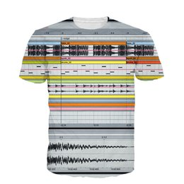 Discount live t shirts Wholesale-New Fashion Ableton Live T-Shirt 3D Sexy Tee Tops Bedroom DJs Popular Music Production Software All-Over Print T Shirt Dropship
