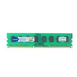 Livraison gratuite 1Pcs / Lot DDR3 4G 1333 RAM mémoire d'ordinateur de bureau DIMM 4GB 1333MHz Dual Channel 8G pour carte mère ordinateur PC AMD