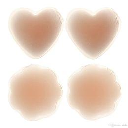 Самая низкая цена Горячие 600 пар Силиконовый ниппель Обложка Пэд Патч Грудь Shaper Skin Nude Adhesive Round
