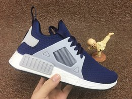 Cheap Adidas NMD XR1 PK Primeknit Pure Platinum Women Core White