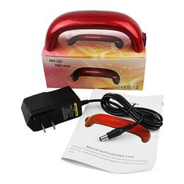 Máquina profesional portable del secador del clavo con la lámpara del LED para la mini luz llevada Los secadores eléctricos del clavo para 9W 30S libera DHL