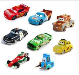 pixar cars 2 diecast models vehicles kids toys car for children mcque mcqueen cartoon racing car model