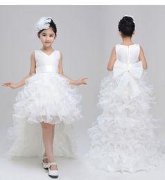2017 girls piano dress costume flower girls dress wedding dress