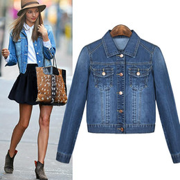 Hot Ladies Short Denim Jacket Online | Hot Ladies Short Denim ...