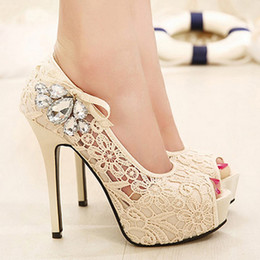 Discount Bridal Shoes Heel Bow | 2017 Low Heel Bridal Shoes Ivory ...