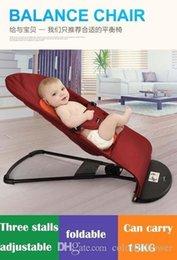 Wholesale Equilibre chaise bébé bonne utilisation de fournitures pour bébé mains libres pour les enfants chaise à bascule chaise à bascule