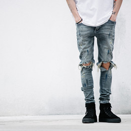 Discount Best Men Ripped Jeans | 2017 Best Men Ripped Jeans on