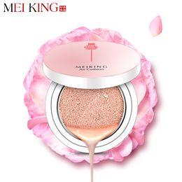 Wholesale Ushion bb MEIKING Rose Beauté Coussin Air BB CC Crèmes Maquillage Minéral Matte Finish Concealer Whiteing Moisturizing Fondation DD Cr