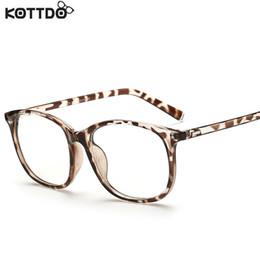 wholesale kottdo 2017 fashion women clear lens eyewear new luxury brand designer men women eyeglasses frames womens glasses oculos cheap womens designer