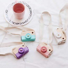 mini wooden kids camera toy lovely childrens room decor hanging cute furnishing articles ornaments gifts home decoration accessories - Home Decor Articles