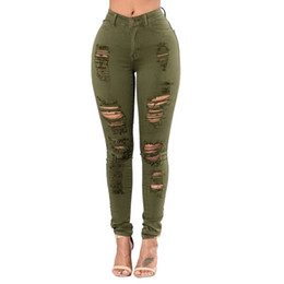 Discount Colored Ripped Jeans | 2017 Colored Ripped Jeans Man on ...