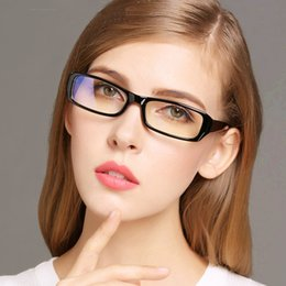 2017 eyeglass frames clear lenses wholesale anti blue light radiation computer glasses women fashion coating