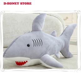Giant Stuffed Shark giant stuffed shark. . kiki the great white shark 51 inch big