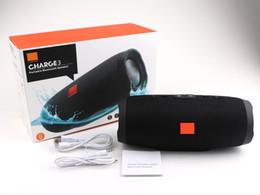JBL Charge 3 с логотипом Bluetooth Speaker Waterproof Портативный Открытый сабвуфер HIFI Беспроводные динамики Лучшие качества