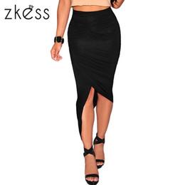 Long Slim Denim Skirt Online | Long Slim Denim Skirt for Sale