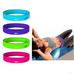FlipBelt - лучший в мире фитнеса и БЕГОВОГО: черный, розовый, зеленый, фиолетовый, размер S, M, L Фитнес тренировки Велоспорт пояса