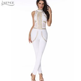 White Party Evening Jumpsuits Rompers Online | White Party Evening ...