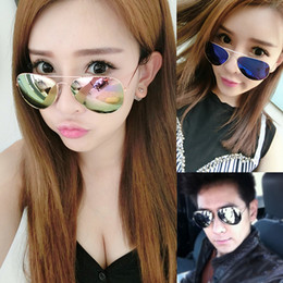 the new 2017 ms sun glasses round sunglasses men tide personality star hipster driver glasses