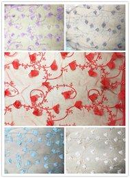 Wholesale Decoración de encaje de costura de encaje de gasa de D flor accesorios de la ropa de artesanía de DTY Accesorios de costura de ropa de vestir de las mujeres hechas a mano de DIY yards