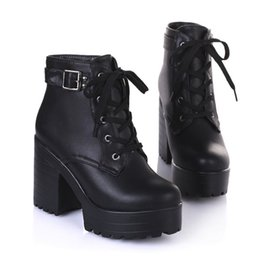 Short Black Boots Buckles Size Online | Short Black Boots Buckles ...
