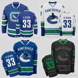 henrik sedin authentic vancouver canucks hockey jerseys 33 henrik sedin jersey home blue