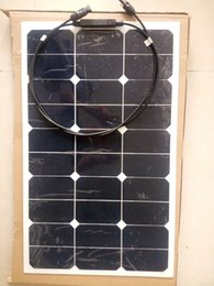 45W solar powered fishing boats backside connection for 12V solar panel module charging battery from connection panel manufacturers