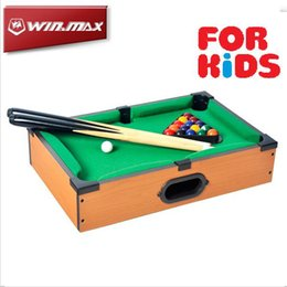 Mini table de billard Funny portable pool Cute Small Top Billiards Be Well Received American Snooker Toys for Child MDF