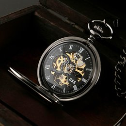 men watches wind up online wind up watches for men for whole ess men elegant stainless steel case hand wind up mechanical pocket watch gift chain watches wp118 ess