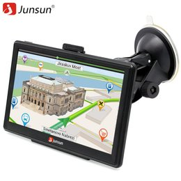 Discount Gps Europe Maps Junsun  Inch Hd Car Gps Navigation Bluetooth Avin Capacitive Screen Fm