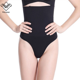 cfdbc44f29 Wholesale- Wechery Butt Lifter with Tummy Control Pants Seamless Slimming  Shapers Women Panties High Waist Briefs Slimming Underwear