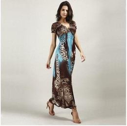 Leopard print maxi dress uk