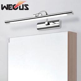 Discount Stylish Toilets Stylish Bathroom Toilet Led Mirror Wall Light Simple Bedroom Dresser Mirror Front Lamp