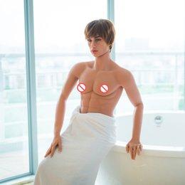Wholesale 160 centímetros bonecas gays sexo masculino realista silicone amor boneca pênis manequins homens reais pode ficar Muscle homens fortes buracos sexo oral