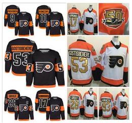 online shopping 50th Stadium Series Premier Jersey Philadelphia Flyers Travis Konecny Shayne Gostisbehere Provorov Giroux Hockey Jerseys