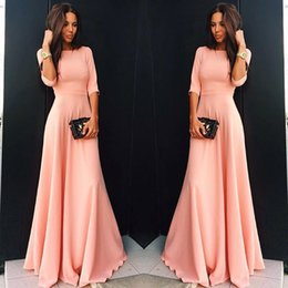 online shopping New arrival Women Sexy Dress Short Sleeve Evening sexy Party long Dress Summer Autumn Women Casual Ladies Fashion O Neck Loose Dresses