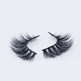 Wholesale Mink Faux Cils Faux Maigre Faint Messy Crisscross Lashes Fashion Stage Smoke Maquillage Outils Cils Fake Stage art main pure